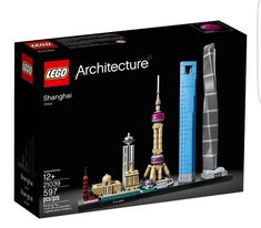 LEGO 21039 Architecture Shanghai 597pcs New in Hand Free Shipping