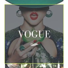 This board celebrates all things Vogue: The Covers, the tradition of beauty, fashion, style, models, photography and excellence with a compilation of even more spectacular cover art along with editorial features. In addition to featur­ing classic covers from the magazine's 125-year history, this board brings you into the magazine's cutting-edge takes on style, fashion, and culture. Cover Art, Style Fashion, Editorial, Bring It On, Vogue, Culture, Magazine, Models, History
