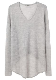 helmut lang fine alpaca pullover ~ I saw a girl wearing this in magnation. it looked stunning! MUST MAKE
