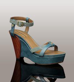 UGG® Evelina for Women | Stingray Architectural Wedge High Heel Sandals For Women at UGGAustralia.com