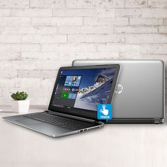 The HP Pavilion is everything you are looking for in a notebook. Now you can watch more, play more, and store more, all in style. Increased memory eases multi-tasking and more storage means more entertainment. Stylish inside and out with a new gradient design around the keyboard.  #HP #laptop #Computer #Deals #notebook #Microsoft #PC #Windows10 #tech #intel #i5 #sunday #sale #deal