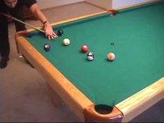 Billiards Tips Techniques Pool Shots Tutorials Phil Capelle - Masse pool table