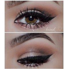 gorgeous peachy eye makeup
