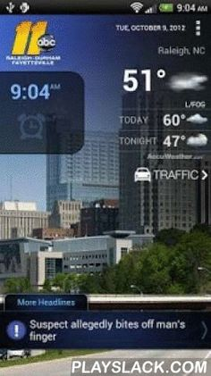 ABC11 Raleigh-Durham Alarm  Android App - playslack.com , ABC11-WTVD Raleigh-Durham-Fayetteville. Wake up with the ABC11 Alarm Clock app! Start your day with local news and sports headlines, First Alert Doppler XP Radar, current weather conditions and traffic. Set your alarm to wake up to the sound of your favorite Eyewitness News personality, such as Chief Meteorologist Chris Hohmann, John Clark and Barbara Gibbs. You can choose one of our classic alarm tones or even choose a song from your…