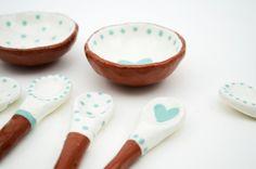 Hand painted ceramics by Susan Simonini