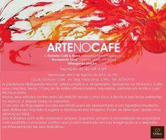 """05/08 à 05/09 ♥ Exposição """"Movimento Livre"""" de Hildegarda Muche ♥ ARTE NO CAFÉ ♥ SP ♥  http://paulabarrozo.blogspot.com.br/2014/08/0508-0509-exposicao-movimento-livre-de.html"""