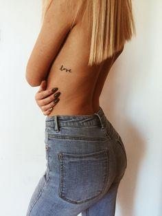 """tattoo """"love"""" #smalltattoo #tattoos #tattoolove"""