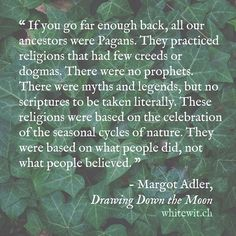 I'm a Genealogist. If you go far enough back, you'll see that you're ancestors…