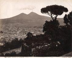 Sommer,Georgio; Napoli Panorama S. Martino, ca 1880.