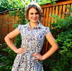 Dress in Liberty of London Mabelle'' Tana Lawn  by DressbyGS, £94.00