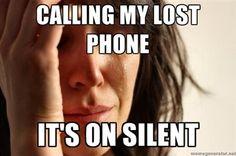 First World Problems #meme