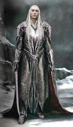 #LeePace as #Thranduil — That armor is glorious. His hair is glorious. Everything about Thranduil is glorious. (I should go to bed. I'm rambling over Lee Pace the way I do over people when I've been up for too long and stop editing myself, haha.)