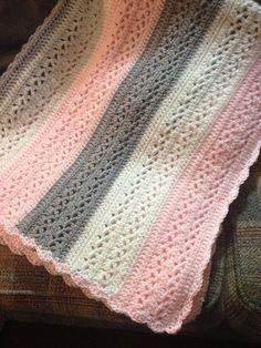 Summer Stripes Baby Afghan {Free Crochet Pattern]