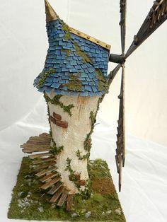 Terrain Wench Productions: Fantasy Windmill