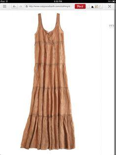 Calypso St. Barth.  Maxi dress. Beautiful in person!