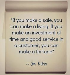 It's all about the customer!