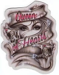 Queen of Hearts by reanimati0n on deviantART