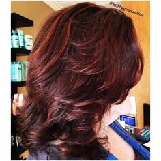 Spicy hot Red Hair from our glaze line Shades EQ