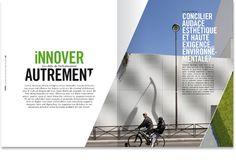 Lafarge :: Rapport annuel 2012 : * Print Magazine, Design Magazine, Editorial Layout, Editorial Design, Annual Reports, Brochures, Typo, Layout Design, Magazines