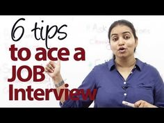 6 tips to ace a Job Interview - Job Interview Skills - http://LIFEWAYSVILLAGE.COM/how-to-find-a-job/6-tips-to-ace-a-job-interview-job-interview-skills/