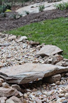 As I mentioned in the Hillside Landscape post, our backyard consists of a small flat area near the house and a cleared hillside that continues up into a wooded area. Once we moved and settled into our home, we realized that the hill was actually one large Alabama sandstone rock loosely covered with a combination …