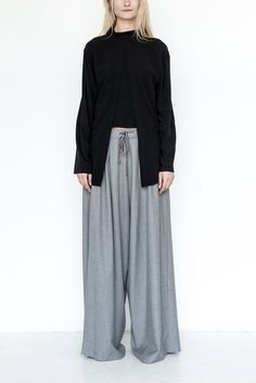 Heather Baggy Pant