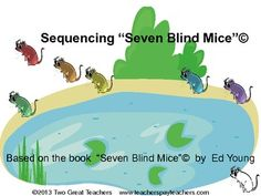 Use this product to sequence the story by Ed Young. There are other versions of the story that could also be sequenced using these mice. There are several ways to sequence using this product. There are pictures for lower level students, words only for highest level students, and a mix for those in between. Look through the whole product before printing so you will be confident of what you use with your children. Great for differentiation. Answers included.
