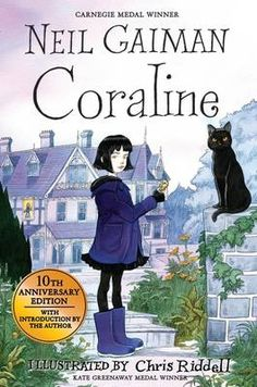 Buy Coraline by Neil Gaiman at Mighty Ape NZ. The bewitching tenth-anniversary edition of the classic children's novel Coraline by Neil Gaiman, featuring spellbinding illustrations from Chris Ridd. Coraline Jones, Coraline Book, Coraline Neil Gaiman, Books To Read, My Books, The Graveyard Book, Love Book, Great Books, Book Worms