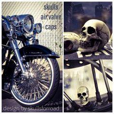 Skulls, Cap, Motorcycle, Bike, Design, Baseball Hat, Bicycle, Motorcycles, Cruiser Bicycle
