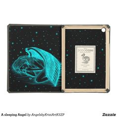 A sleeping Angel #iPad Air #Covers  #NEW #Angel #Love #Fantasy #Art #Angels by Krisi ArtKSZP on Zazzle