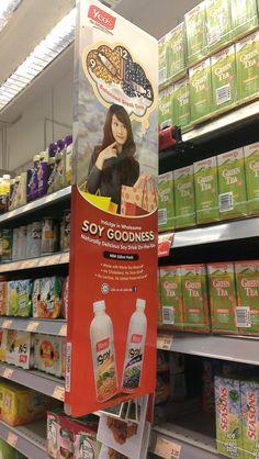 Yeo's Soy Goodness | Shelf Banner