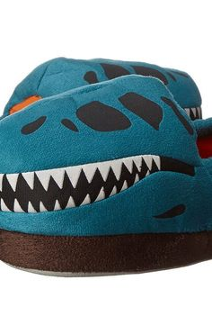 Stride Rite Glow T Rex Skull (Toddler/Little Kid) (Turquoise) Boys Shoes - Stride Rite, Glow T Rex Skull (Toddler/Little Kid), SR5245-440, Footwear Closed Slipper, Slipper, Closed Footwear, Footwear, Shoes, Gift - Outfit Ideas And Street Style 2017