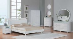 White bedrooms designs 2014