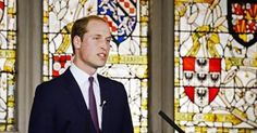Prince William urges Chinese consumers to stop buying illegally traded wildlife products. Prince William gives a speech due to be televised on Chinese state TV, in which he urges Chinese consumers to stop buying illegally traded wildlife products. Coinciding with the Chinese president's visit to the UK on Monday, William tells an audience of students and guests at King's College in London that China's influence in the world means they can change the face of global conservation.
