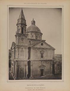 From our Italian Architecture exhibit: Monte-Pulciano. Madonna Di San Biagio. Facade. (Ant. Da Sangallo.)