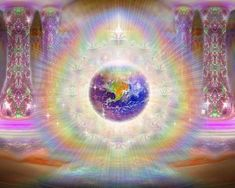 Shanta Gabriel - God exists in all circumstances - Earth Angels & Angelic Lightworkers Cartoon Network, Art Visionnaire, Spiritual Pictures, Astral Plane, Visionary Art, Sacred Art, Psychedelic Art, New Wall, Love And Light