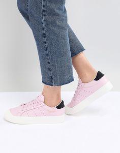 adidas Originals   adidas Originals Everyn Sneakers In Pink Adidas Originals,  The Originals, Fab b8fd0535a3