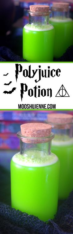 Polyjuice Potion drink from the Harry Potter series. So in light of the movie…