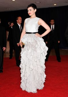 Ginnifer Goodwin wore an H&M gown to the White House Correspondents' Association Dinner back in 2012.