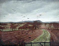 Christopher Nevinson, A Winter Landscape 1926