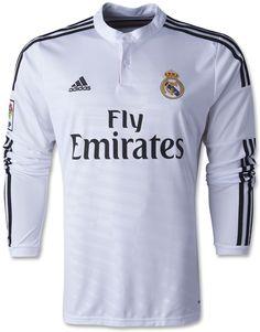 Jersey Jersey Real Madrid Home Lengan Panjang 2014-2015 Real Madrid 0dd0d9c06d8ac