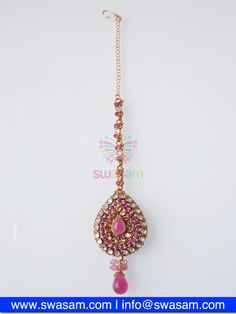 Indian Jewelry Store | Swasam.com: Tikka with Perls and White Stones - Tikka - Jewelry Shop to Buy The Best Indian Jewelry  http://www.swasam.com/jewelry/tikka/tikka-with-perls-and-white-stones-1409.html?___SID=U  #indianjewelry #indian #jewelry #tikka