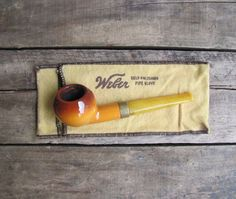 vintage c. 1930s ceramic pipe by Goedewaagen // Made in Holland