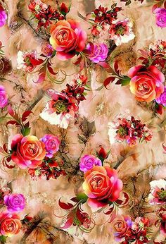 Buy online Fancy Digital Print fabric, We TEXSTILE ARENA are one of the leading manufacturer & supplier of Fancy Digital Print fabric based in Surat, Gujarat, India Purple Flowers Wallpaper, Beautiful Flowers Wallpapers, Flower Phone Wallpaper, Flower Wallpaper, Fabric Print Design, Floral Print Fabric, Floral Prints, Iphone 6 Wallpaper Backgrounds, Flower Backgrounds