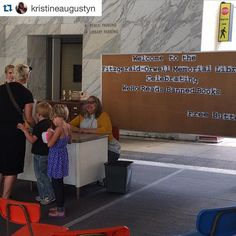 Thanks for the great post @kristineaugustyn  #Repost  Dani Dodge at the West Hollywood Library reminding us that we can always rewrite our story!! Awesome installation ! #westhollywood #westhollywoodlibrary #weho #bannedbooks #danidodge @dani_dodge