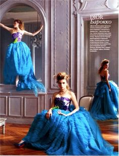 Dior Haute Couture in InStyle Magazine 2010