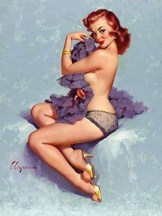 Vintage Venus - Luscious vintage pin-up posters and prints.