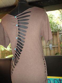 creative t shirt cutting