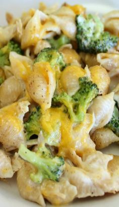 Chicken & Broccoli Alfredo Shells - Note: Make gluten free, could do cauliflower alfredo sauce or cauliflower with any variation of real regular alfredo.