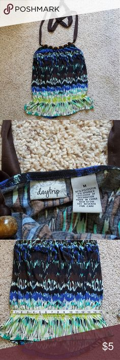 Daytrip Top Som end splitting on ties. Measurements in pictures. Daytrip Tops Camisoles